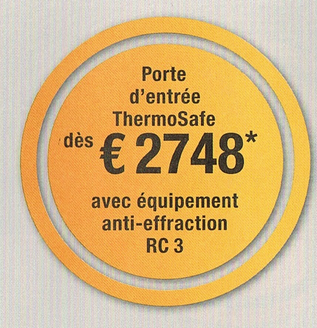 Portes d 39 entr es for Porte d entree vitree anti effraction